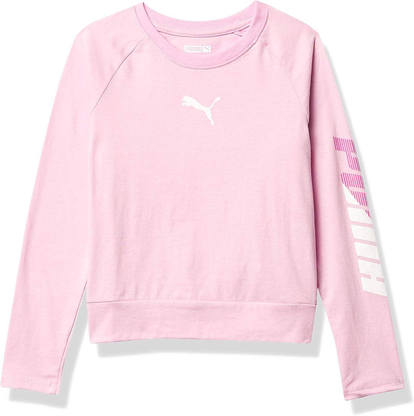 PUMA Girls' Longsleeve T-Shirt