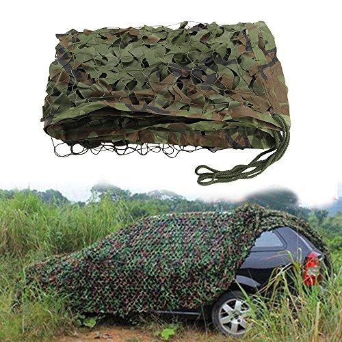 ZhongYeYuanDianZiKeJi Red de Camuflaje Oxford para Caza, Tiro, Camping, Militar, 1 m, 2 m, 3 m, 4 m, 5 m, 7 m, Color Camo Green, tamaño 3x5M