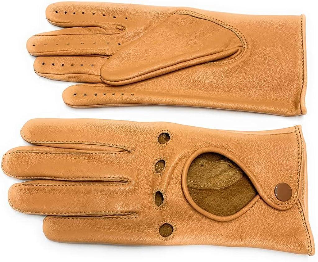 Women's Ladies Genuine Sheep Leather Fancy Gloves