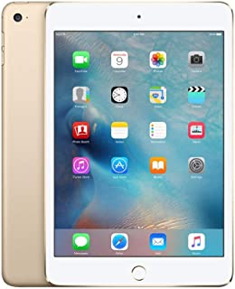 Apple iPad Mini 4 MK6L2LL/A 7.9-Inch, 16GB, Wi-Fi, iOS 9, Gold (Refurbished)