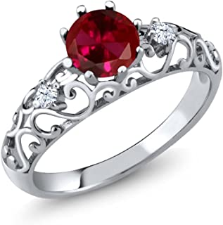 Build Your Own Ring - Personalized Birthstone Ring in 925 Sterling Silver Ring