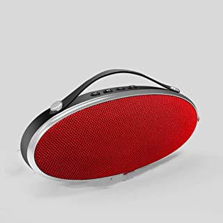 Bluetooth Speaker, Outdoor Wireless Portable Speaker, Suitable for Travel, Sports,Red