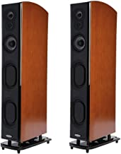 Polk Audio LSiM707 Floor Standing Speaker, 20Hz-40kHz Frequency Response, Pair, Mt. Vernon Cherry