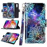 Casetego for Galaxy A70 Case,Detachable Magnetic Wallet Case PU...