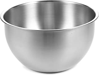 Stainless Steel Mixing Bowls - Mixing Bowls Stainless Steel - Metal Mixing Bowls - 304 Stainless Steel Mixing Bowls - Baking Bowl - 10 inch 26 cm Bake Bowl - 1 Pack