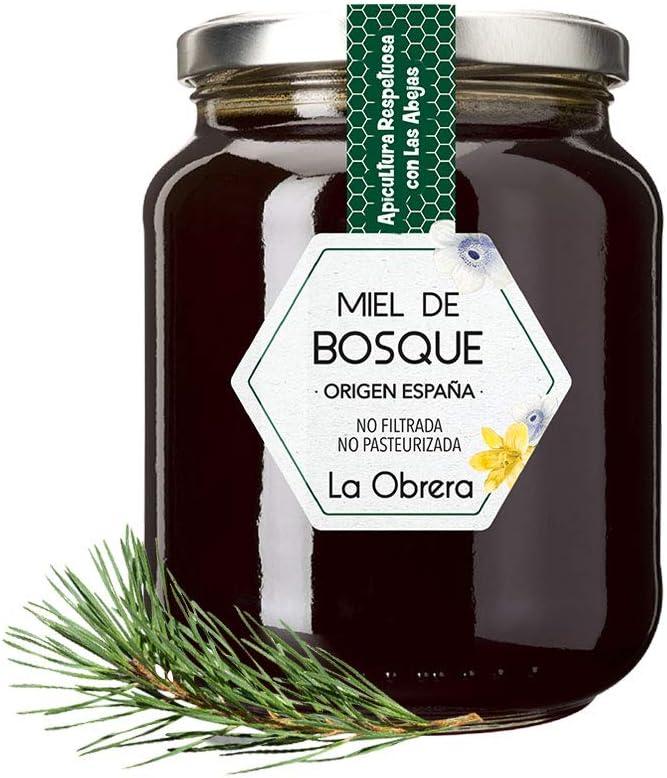 La Obrera - Miel Pura de Bosque - 100% Origen España - 950 g: Amazon.es: Alimentación y bebidas