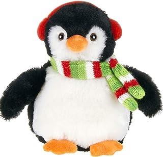 Bearington Flurry Plush Stuffed Animal Penguin, 7 inches