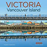 Victoria & Vancouver Island 2020 12 x 12 Inch Monthly Square Wall Calendar, Canadian Regional Travel Canada