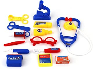 新しいクリスマス子供教育ふりドクタープロテクターおもちゃセット子医療ツールボックスドクタープロテクターナースロールプレイングおもちゃセットギフト