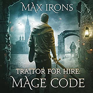 Traitor for Hire: Mage Code audiobook cover art