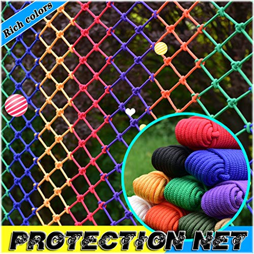 Best Review Of HJBhjb Child Protection Net Nylon Net Staircase Patio Fall-Proof Rope Net Balcony Saf...