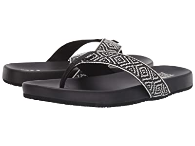 Billabong Beach Club (Black/White) Women