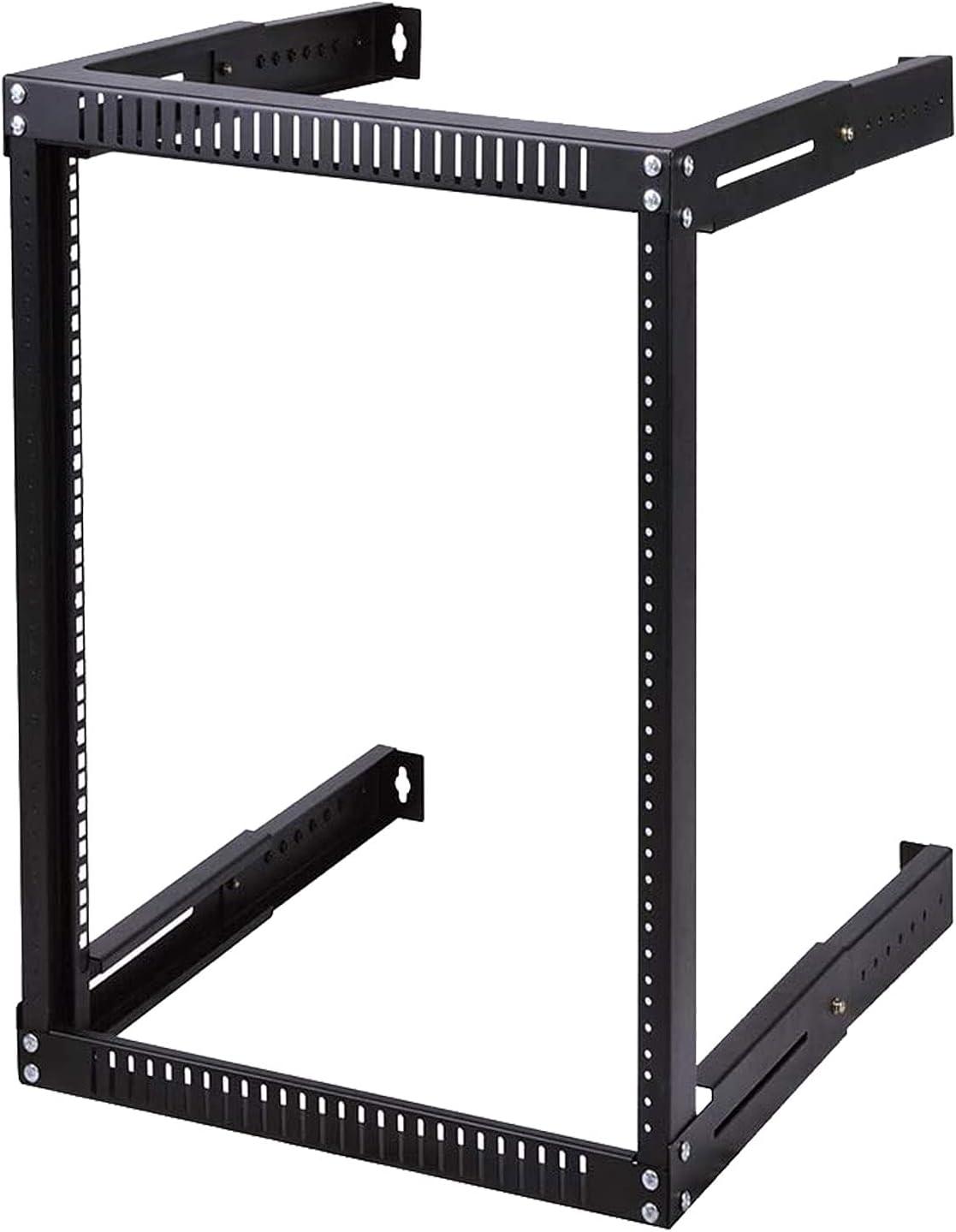 FerruNet18U Blank Rack Mount Panel Spacer for 19-Inch Server Network Rack Enclosure Or Cabinet Black,ApplytoSmall Office, Home Office.