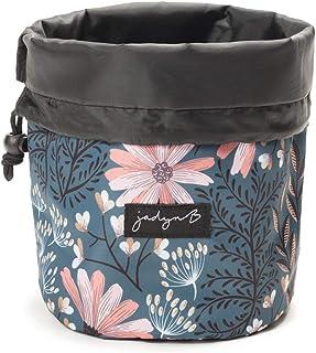 حقيبة سفر صغيرة الحجم ومنظم مستحضرات التجميل للسيدات من جادين بي سين, , Navy Floral - 4354020134