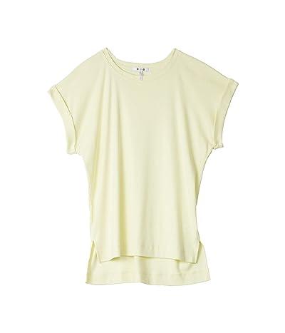 Three Dots Cotton Modal Short Sleeve Top (Limonata) Women
