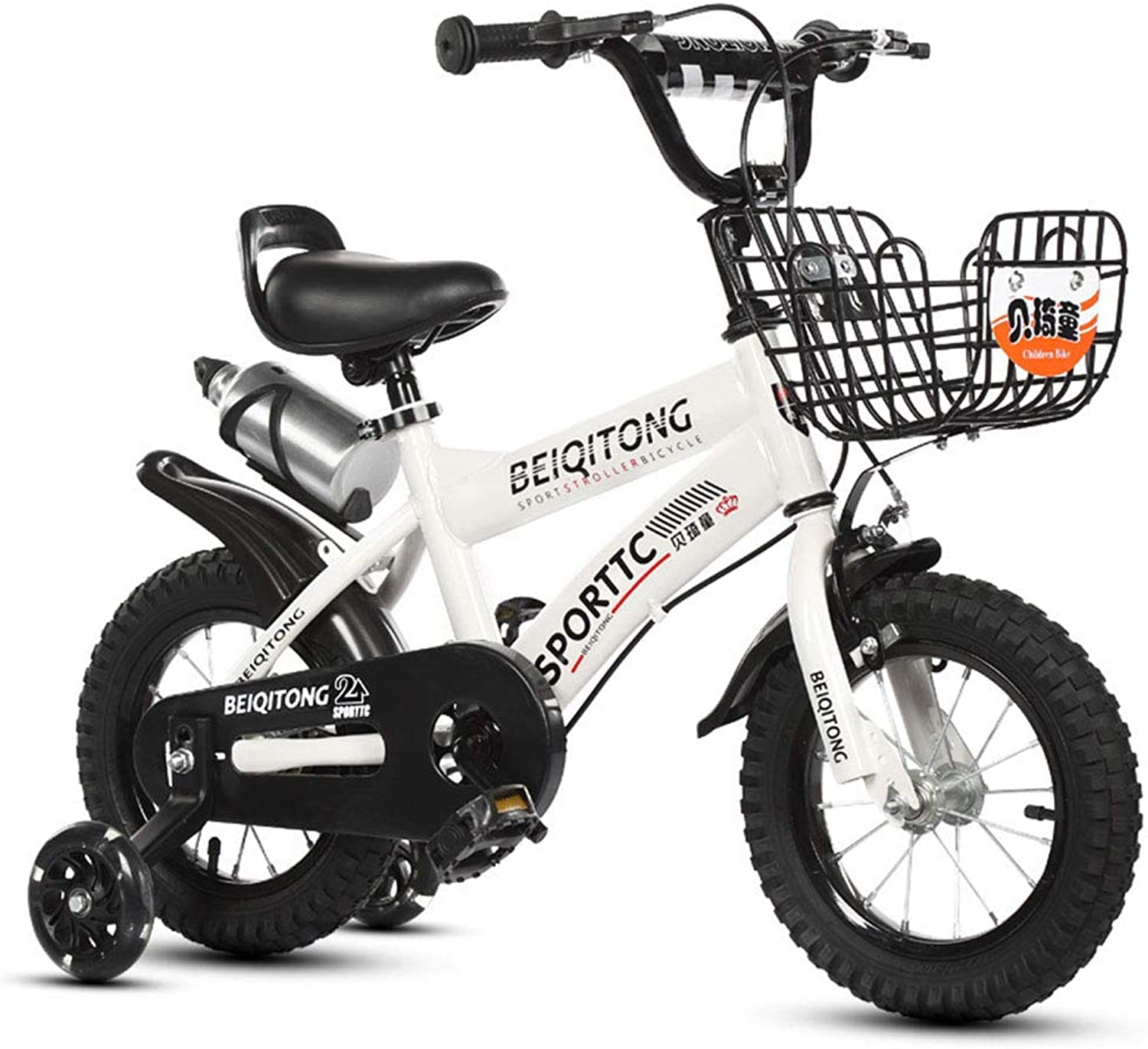 Kids bike 12 inch Boys and Girls  alloy kickstand   V-brake and backpedal brake as from 2 years   12  BMX Edition 2019