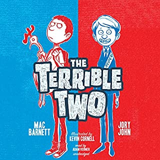 The Terrible Two audiobook cover art