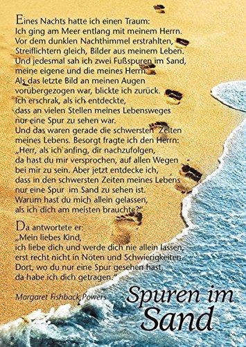 Spuren im Sand - Die Postkarte. Verpackungseinheit
