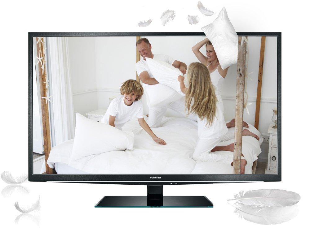 Toshiba 46 TL 838G, Televisión Full HD, Pantalla LED 46 pulgadas (Full-HD, 200Hz AMR, 3D, Smart TV): Amazon.es: Electrónica