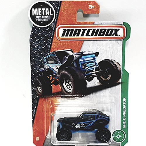 Matchbox Blue GHE-O Predator 393 1/64 Scale Diecast Car