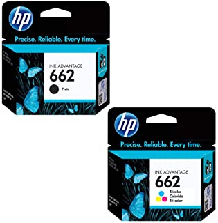 Kit Cartuchos HP - 662 preto e color Da 2516 3516 1516 2546