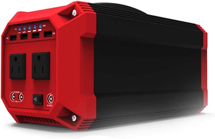 Centrale elettrica portatile/power bank con presa ca a onda sinusoidale pura tim-li 330 wh / 89200 mah 351-527-677