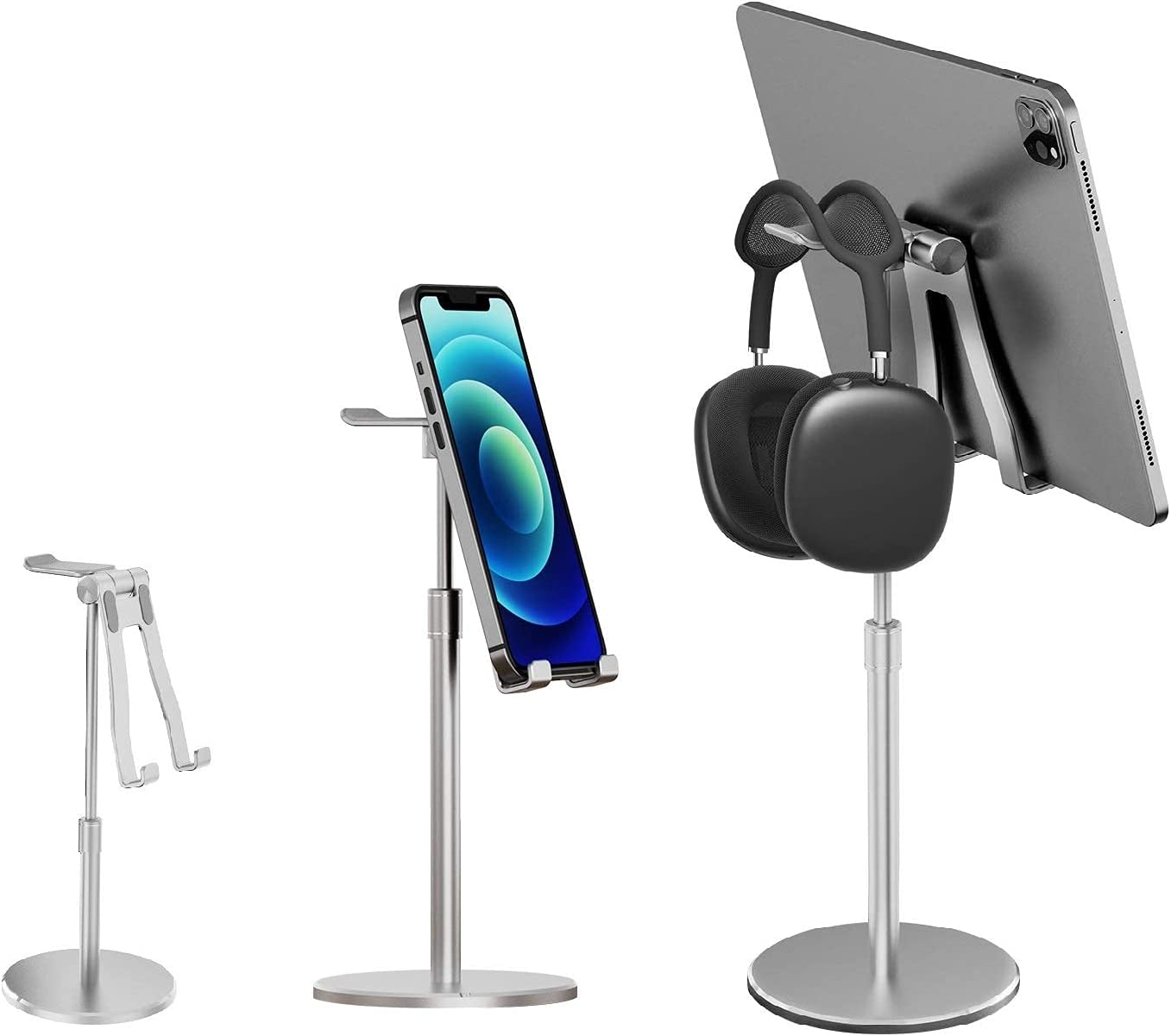 Mulfunctional Phone Stand for Aluminum Desk Alloy Sale price High quality new Headset
