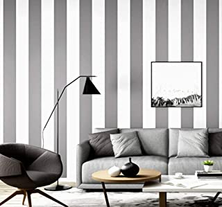 4b89e6ca92e Rollo de papel pintado pared Rayas verticales Papel Pintado Tejido no tejido  Moderno Minimalista 3D para