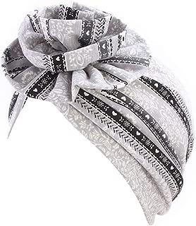 Women Muslim Hat, Retro Turban Hat Head Scarf Wrap Cap