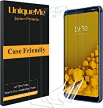 [3 Pack] UniqueMe for Nokia 9 Purview Screen Protector, Full Coverage [Case Friendly] HD Clear Flexible Film with Lifetime Replacement Warranty