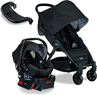 Britax Pathway & B-Safe 35 Travel System, Sketch with Tray Bundle