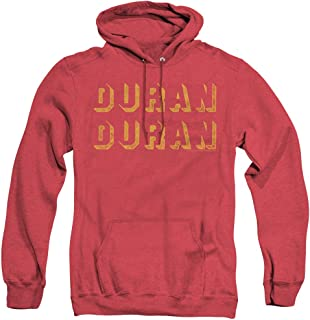 Duran Duran Negative Space Unisex Adult Pull-Over Heather Hoodie