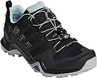 Women's Terrex Swift R2 GTX Shoe, Black/Black/Ash Green, 10.5 M US