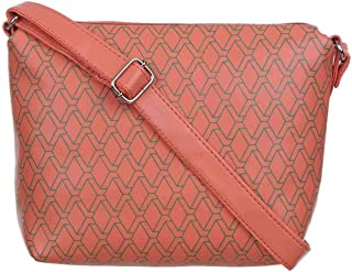 FD Fashion PU Leather Sling Bag For Women's and Girls - Multicolour