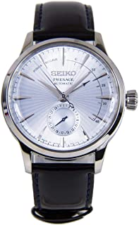 """Seiko Presage""""Cocktail Time"""" Automatic Dress Watch with Power Reserve Indicator"""