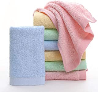 MUKIN Baby Bamboo Washcloths, Baby Face Towels - Extra Soft For Newborn/Infant/Kids/Adults - Ultra Soft For Baby Registry as Shower Gift Set,12x12inch. (12 Pack.)