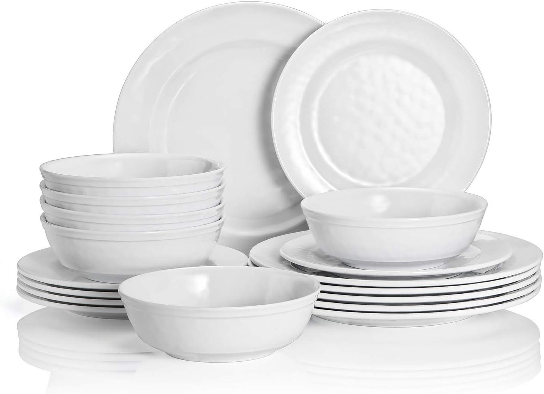 TP Dinnerware Set 18-Piece Direct sale of manufacturer Dinner Melamine Ranking TOP15 Service Dishes