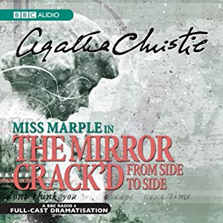 The Mirror Crack'd from Side to Side (Dramatised) audiobook cover art
