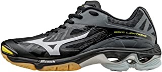 Mizuno Women's Wave Lightning Z2 Volleyball Shoes - Black & Silver