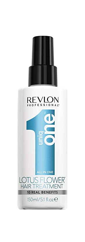 販売計画レタッチ年金受給者Revlon 女性の治療のためUNIQ一つロータスフラワーヘアトリートメント、5.1オンス 値が見つかりません 値が見つかりません