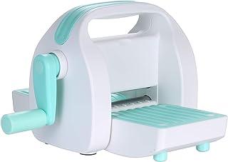 Fesjoy Machine de gaufrage de découpe à la manivelle Coupe-Papier pour Carte de Papier gaufreur Scrapbooking Outil de Bric...