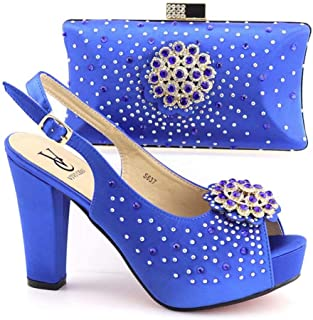 italian matching shoes and bags set