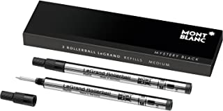 Montblanc Rollerball LeGrand Refills (M) Mystery Black 105164 – Pen Refills for Meisterstück LeGrand Rollerball Pens with a Medium Tip – 2 x Black Pen Cartridges