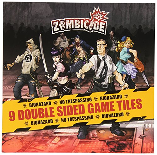 Guillotine Games Zombicide Expansion: 9 Double Sided Game Tiles