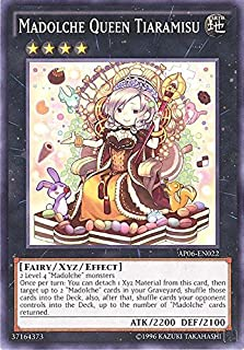 YU-GI-OH! - Madolche Queen Tiaramisu (AP06-EN022) - Astral Pack: Booster Six - Unlimited Edition - Common
