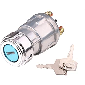Amazon.com: Ignition Switch with Key, Lenmumu Universal 3 Wire Engine  Starter Switch for Car, Motorcycle, Tractor, Forklift, Truck, Scooter,  Trailer, Agricultural Modified Car: AutomotiveAmazon.com
