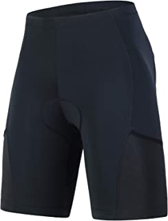 Men's Triathlon Shorts with One Back Pocket,Tri Shorts...