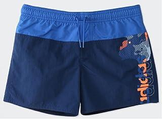 アディダス (adidas) 男子キッズ 水泳用パンツ 水着 youth boys lineage short mid length 160サイズ→(155-164cm)国内正規品 BR8394 ミステリーブルー