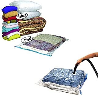 Other Space Saver Bedding Clothes Storage Travel Bag, Clear, 70 x 100 cm, H20.6 x W35 x D2 cm