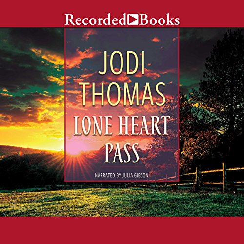 Lone Heart Pass audiobook cover art